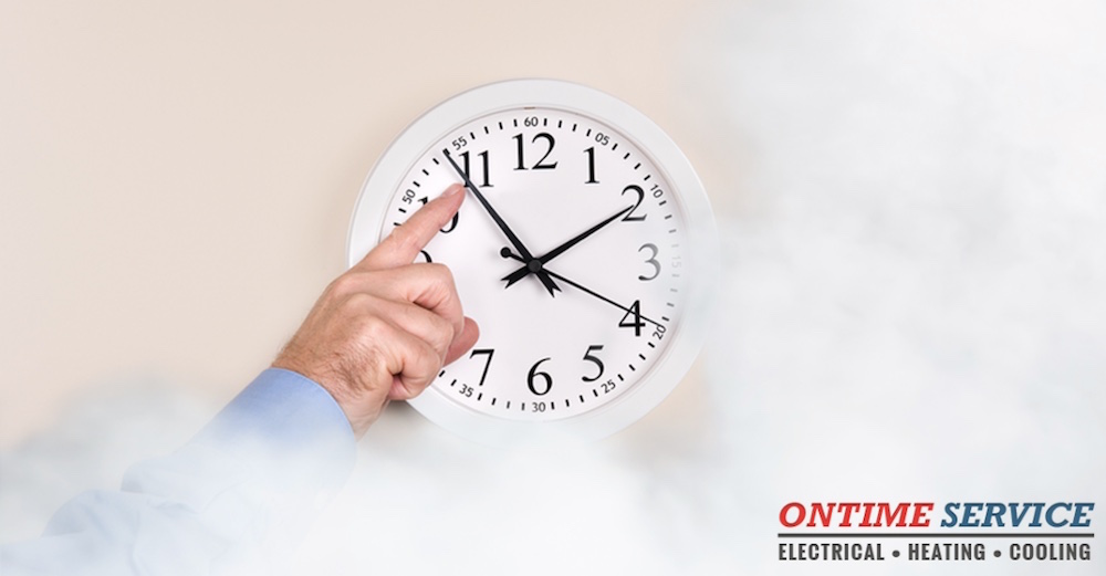 smoke and co safety for Daylight Saving Time