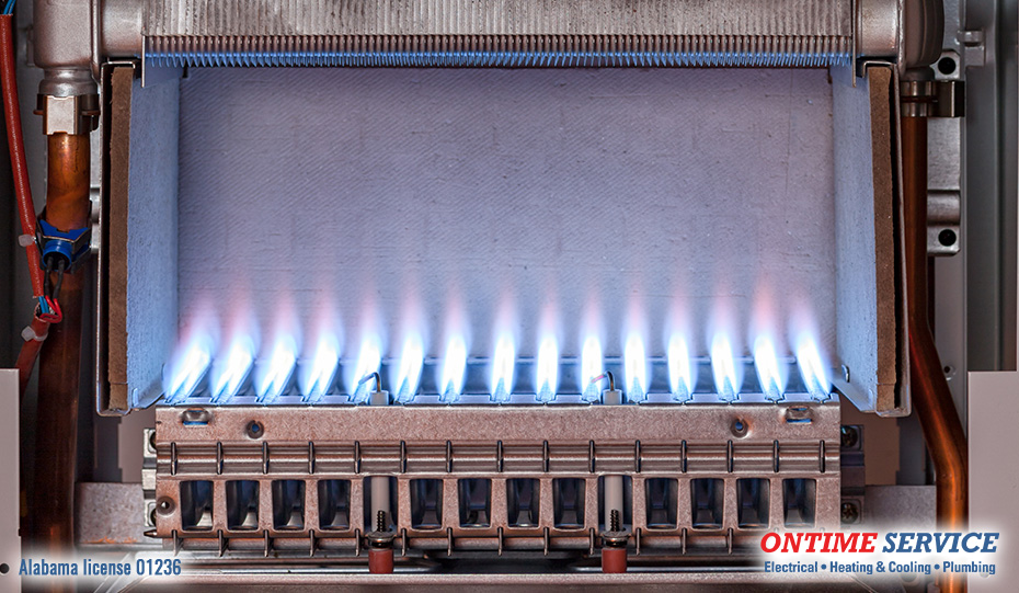 Furnace Flame Color - Blue Flame for Heating Safety and Efficiency