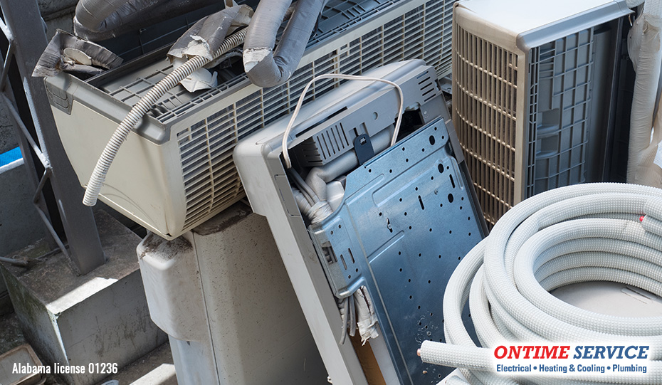 What Do Home Service Companies Do with Old Appliances & Materials?