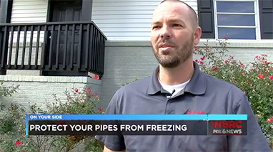 Get your pipes ready for really cold weather